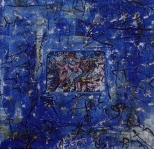 American Graffiti 4 100X100 Tela elaborata al computer Acrilici Smalti 1994