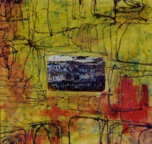 American Graffiti 1 100X100 Tela elaborata al computer Acrilici Smalti 1994