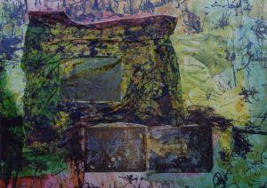American Graffiti 6 130X100 Tela elaborata al computer Acrilici Smalti 1994