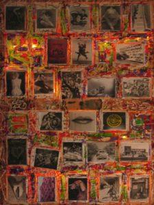 American Photos 120X100 Fotografie d'autore acquistate bancarella New York, PVC Acrilici Silicone Smalti telaio in legno  1995