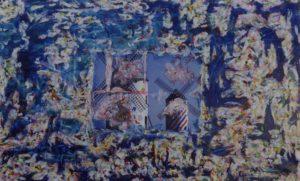 Mils Tela elaborata al computer Smalti acrilici silicone 1995