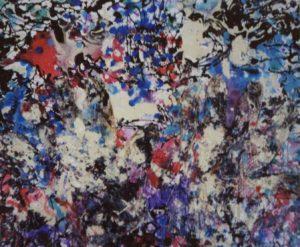 Plastic Hands 50X40 Guanti in plastica Smalti Acrilici su tela 1991